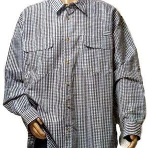 Men's Button Down Fishing Shirt